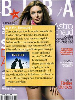 La fin du film dans Biba