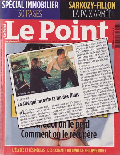 la-fin-du-film.com dans Le Point