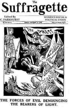 Les forces du mal des suffragettes sur la fin-du-film.com