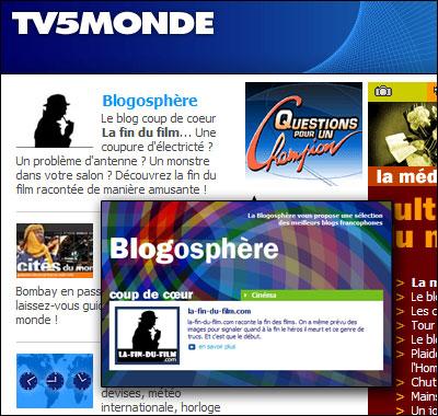 La fin du film coup de coeur sur TV5